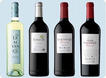 Cata vinos Bodegas Altanza